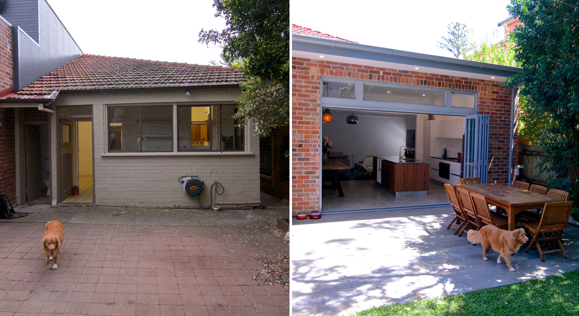 randwick semi before and after